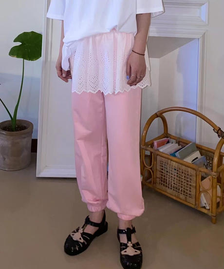 lace  docking  pants/3 color