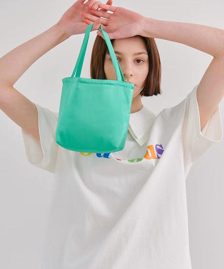 satin mini  bag/6 color