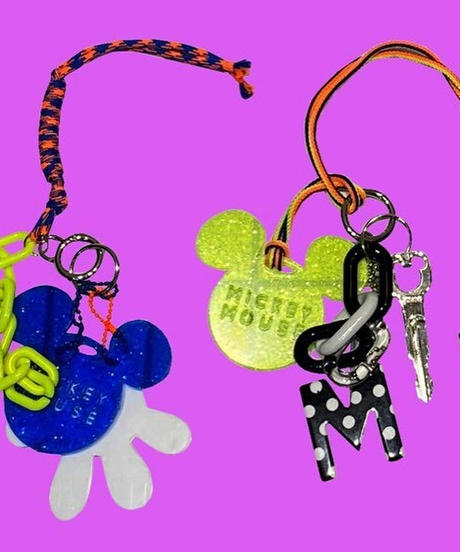 mickey colorful key folder