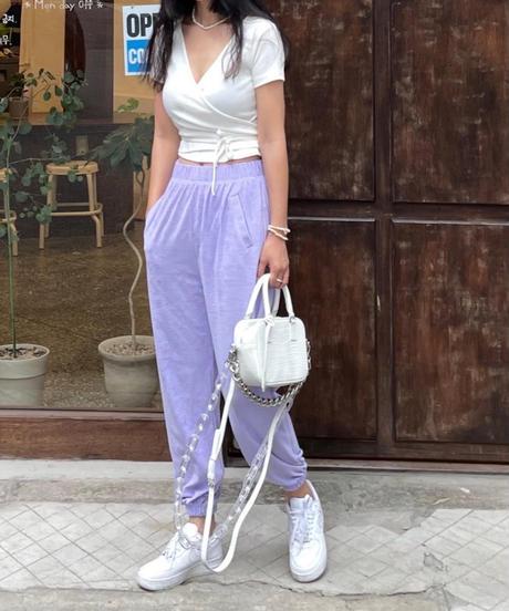 pile fabric  pants/4 color