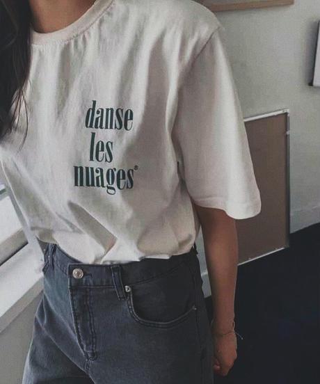 vintage back logo tee/5 color
