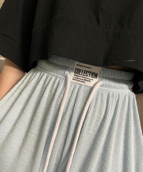 logo point pile pants/4 color