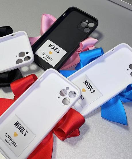 サテンリボンiPhone case