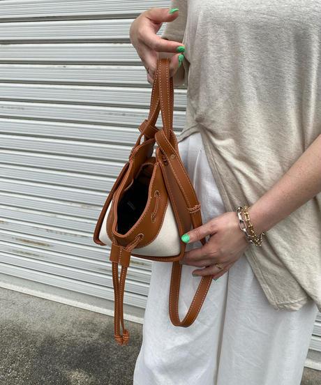 ハンモックleather  bag