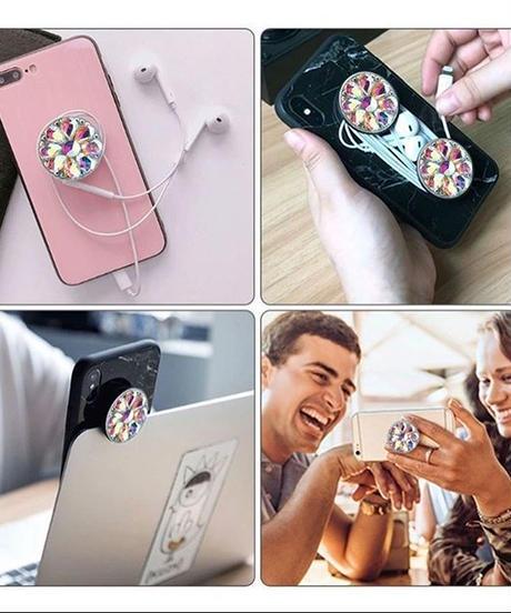 キラキラクリスタル携帯ringアクセサリー