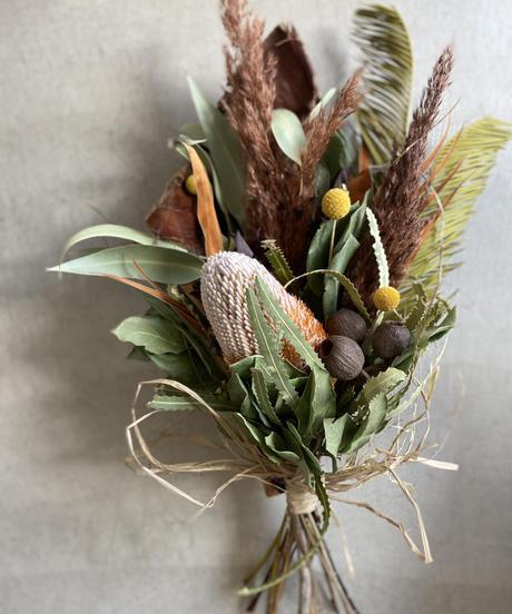 バンクシアの椰子飾り