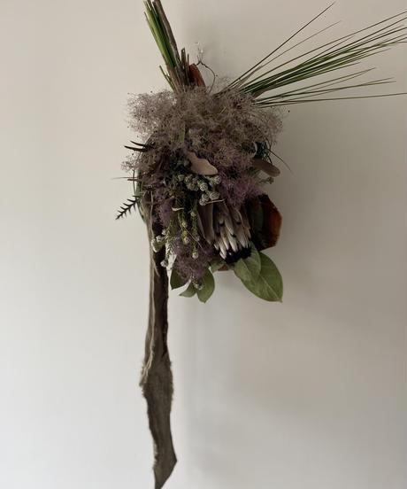 ニオベとスモークツリーの飾りno.2   送料込み
