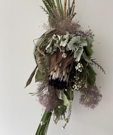 ニオベとスモークツリーの飾りno.4  送料込み