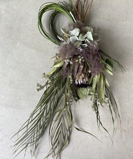 ニオベとスモークツリーの飾りno.3 送料込み