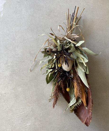 椰子皮の飾り 送料込み