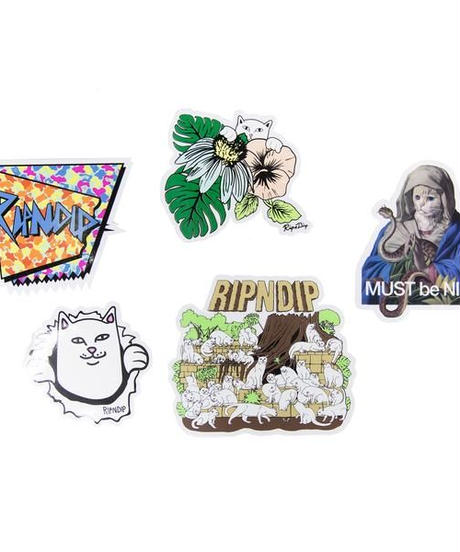 ★RIPNDIP Summer 18 Sticker Pack ステッカー 5枚入り