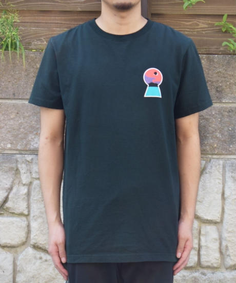 NUMBERS EDITION ITO DOWNWARD SPIRAL ロゴプリントTシャツ