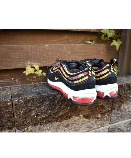 NIKE AIR MAX 97 SE W 花柄スニーカー BLACK, GOLD, SAIL & CRIMSON