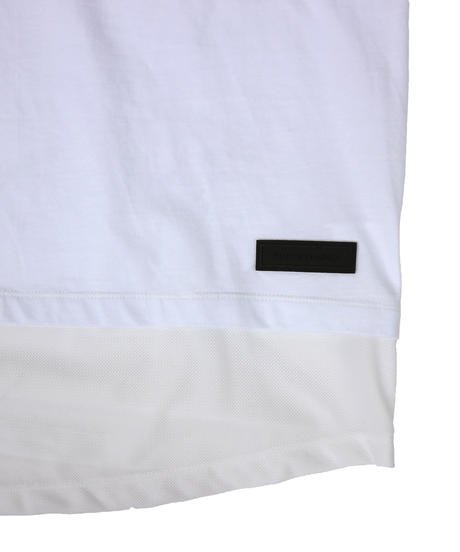 "SUPER THANKS  "" Layer Big Tee ""  WHITE"