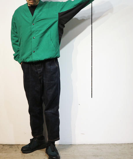 "BEENUTS   ""  Party Coach Jacket ""  GREEN*BLACK"