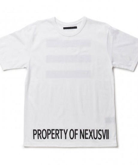 "NEXUSVII.  ""3 STRIPES""  WHITE"