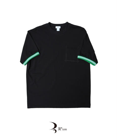 "BEENUTS   ""  Heavy o.z Polo  Tee  ""  BLACK"