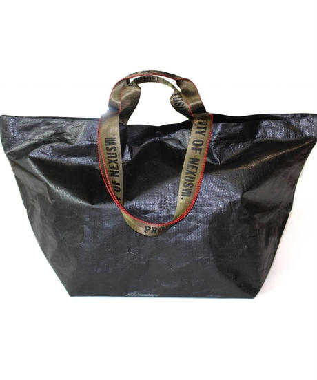 "NEXUSVII.  "" ALL WEATHER TOTE "" BLACK /  L"