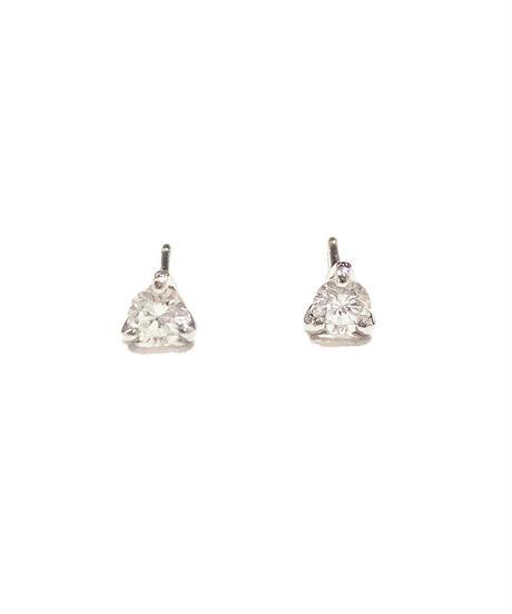 Pt900 Diamonds pierce