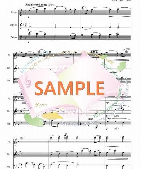 FVC001 間奏曲「カヴァレリア・ルスティカーナ」より/マスカーニ:管弦楽三重奏(フルート、バイオリン、チェロ)