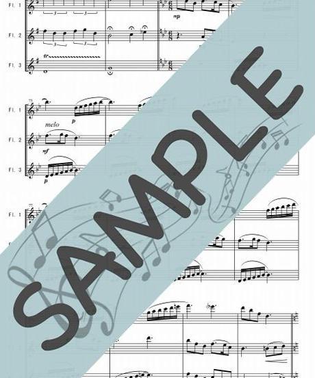 SP-FT016-01 クリスマスキャロル・メドレー 3:フルート三重奏(3Flutes)