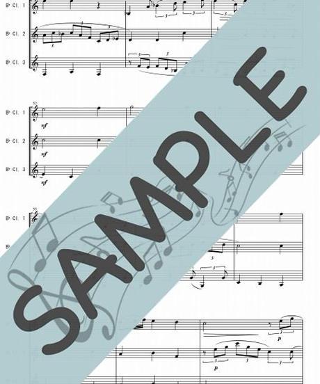 SP-KT002-01 主よ人の望みの喜びよ/J.S.バッハ:クラリネット三重奏