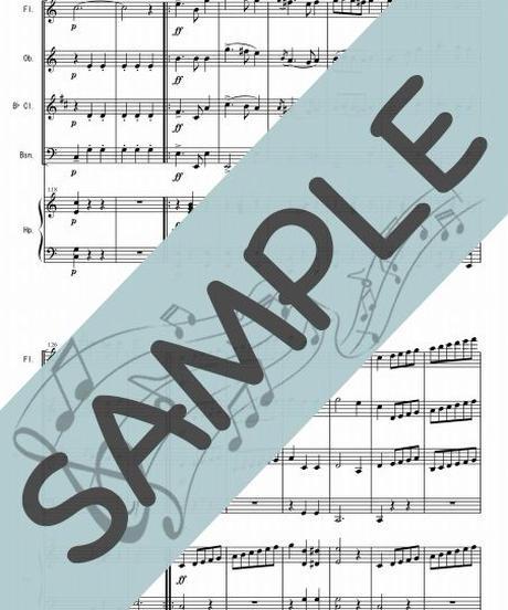 SP-WQ001-01 舞踏への勧誘/ウェーバー:木管四重奏(フルート、オーボエ、クラリネット、ファゴット/op.ハープ)