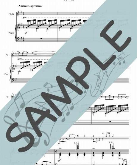 SP-PF001-01 月の光~ジャズアレンジ /ドビュッシー:ピアノ&フルート2本