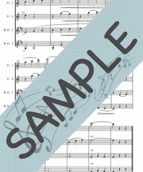 SP-WQ010-01 ジュ・トゥ・ヴ/サティ:木管四重奏(フルート2本&クラリネット2本)