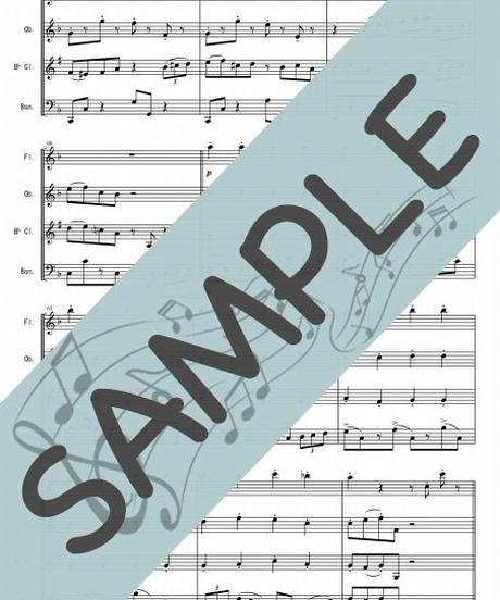 SP-WQ005-01 ウィンター・ワンダーランド/F.Bernard:木管四重奏(フルート、オーボエ、クラリネット、ファゴット)