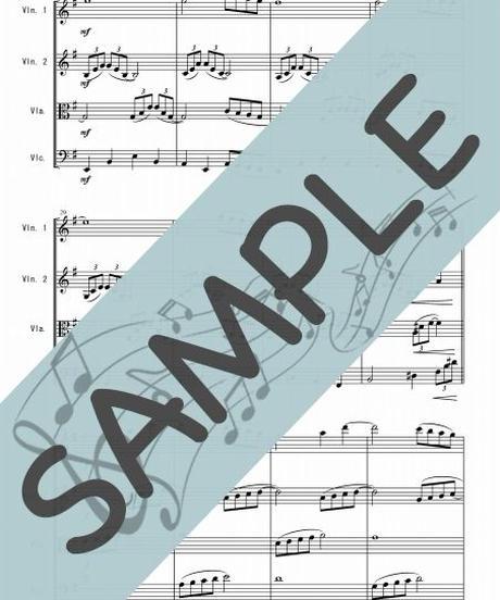 SP-SQ002-01 アヴェ・マリア/カッチーニ:弦楽四重奏(String quartet)