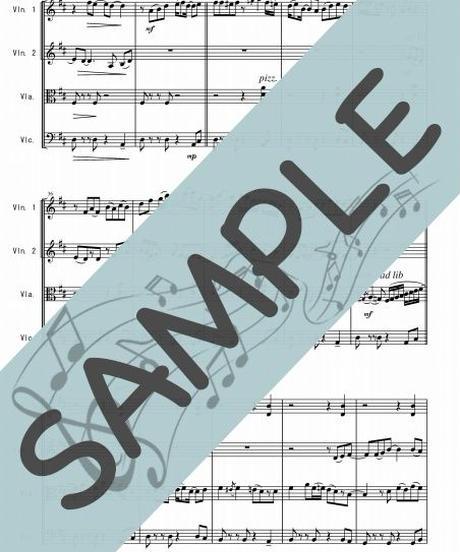 SJ-SQ010-01 スタンド・バイ・ミー(Stand by Me)/ベン・E・キング:弦楽四重奏(String quartet)