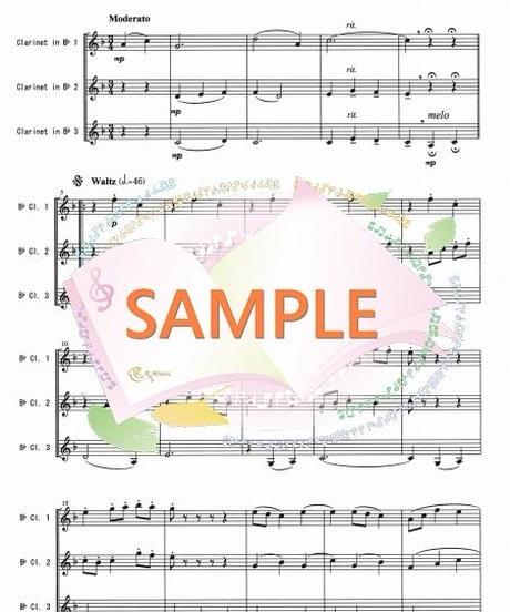 CT001 ジュ・トゥ・ヴ/サティ:クラリネット三重奏
