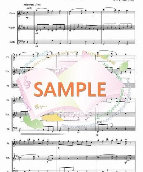 FVC010 君を愛す/ベートーヴェン:管弦楽三重奏(フルート、バイオリン、チェロ)