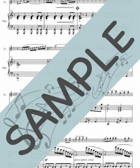 SR-PF002-01 Tango of The Passion~熱き思いを/井関るみ:ピアノ&フルート2本(フルートソロ)