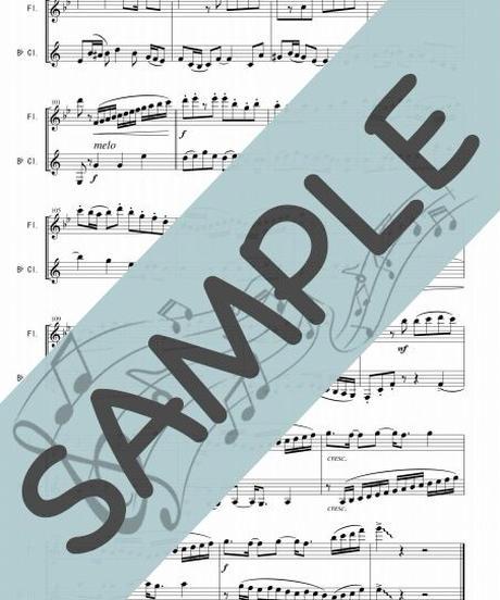 SJ-FK022-01 紅蓮華/草野華余子:フルート&クラリネット(Flute&Clarinet)
