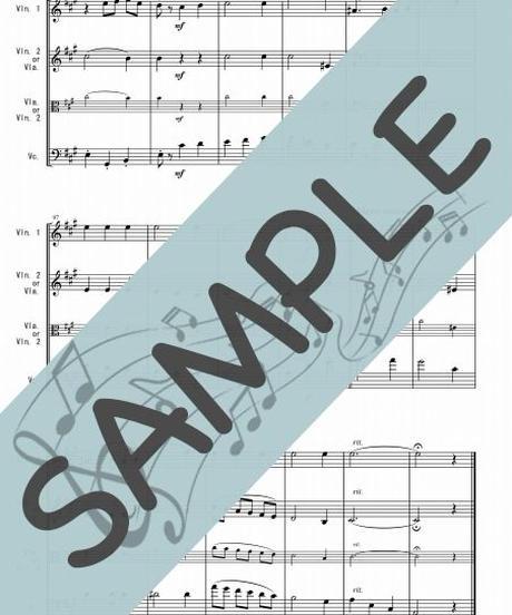 SP-ST003-01 いつか王子様が「白雪姫」より/Frank Churchill:弦楽三重奏(バイオリン&バイオリンorビオラ&チェロ)