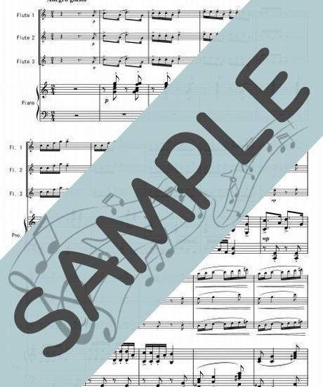SP-PF006-01 小組曲「バレエ」/ドビュッシー:ピアノ&フルート3本