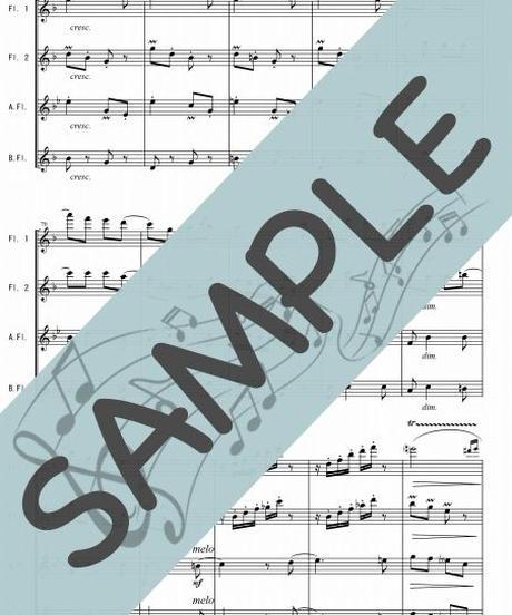 SP-FQG001-01 春の歌/メンデルスゾーン:フルート四重奏(2Flutes,Alto-Flute,Bass-Flute)