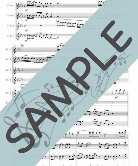 SJ-FQ015-01 ルパン三世のテーマ'78/大野雄二 :フルート四重奏(4Flutes)