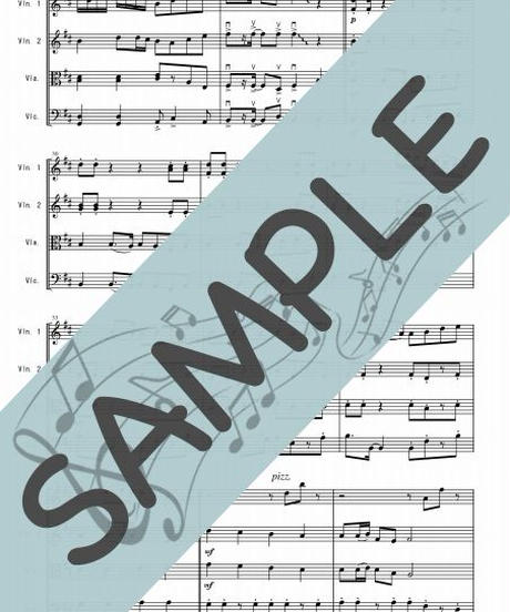 SN-SQ008-01 千本桜/黒うさP:弦楽四重奏(String quartet)