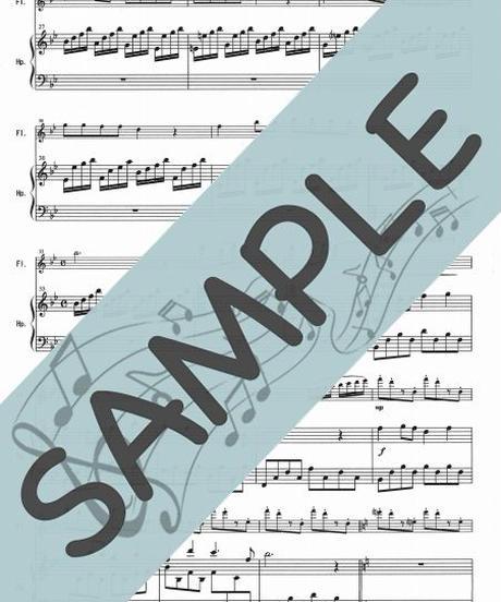 SP-HF012-01 春の訪れ(全5曲メドレー)/滝廉太郎、他:ハープとフルート