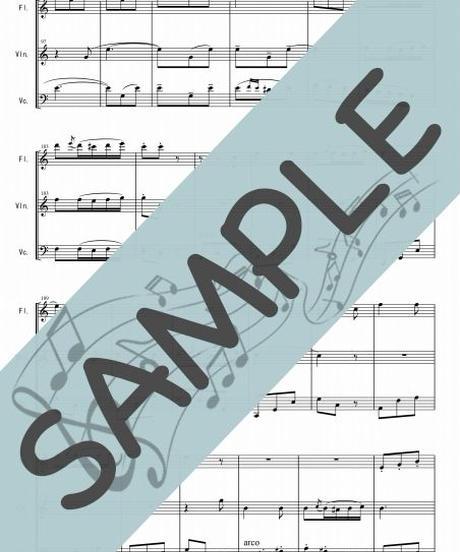 SP-FVC007-01 乾杯の歌「椿姫」/ヴェルディ:管弦楽三重奏(フルート、ヴァイオリン、チェロ)