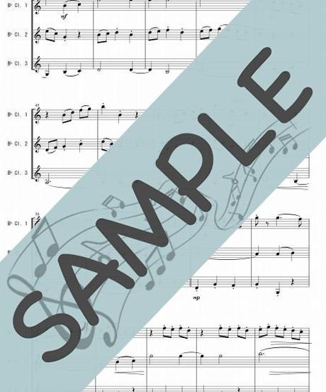 SP-KT001-01 ジュ・トゥ・ヴ/サティ:クラリネット三重奏