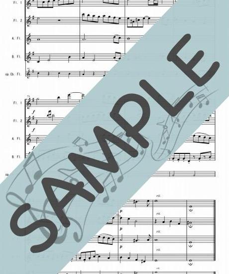 RP-FQG023-01 アヴェ・マリア/カッチーニ:フルート四重奏(2Flutes,Alto-Flute,Bass-Flute/op.+Contrabass-flute)