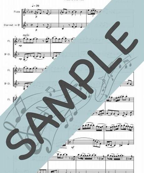 SJ-FK019-01 ひまわりの約束/秦 基博:フルート&クラリネット(Flute&Clarinet)