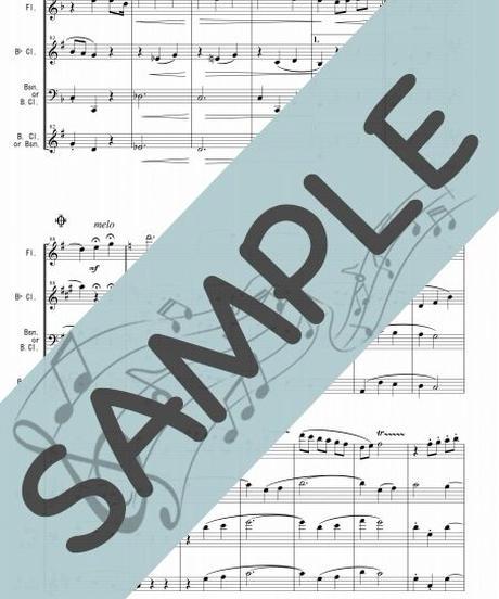 SP-WT001-01 ジュ・トゥ・ヴ/サティ:木管三重奏(Flute,Clarinet,Bassoon/or Bass Clarinet)