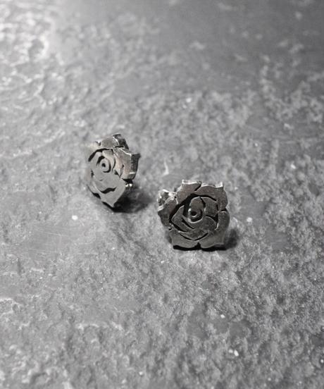 Earrings - Rose【1点物】