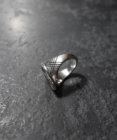 Cast Ring - Rhino Footprints / Mountain【1点物】
