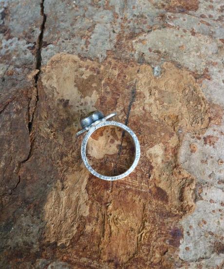 Ring - Platycerium / Rutile quartz【1点物】